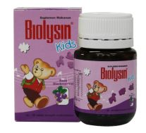 BIOLYSIN KIDS BLACKCURRANT