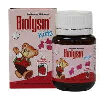 BIOLYSIN KIDS STRAWBERRY